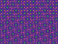 Seamless Retro Psychedelic Pattern Royalty Free Stock Photos