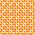 Seamless retro summer or autumn pattern sunny orange background for website wallpaper desktop invitations wedding birthday card Royalty Free Stock Photo