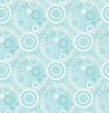 Seamless Retro Wallpaper Pattern Stock Photo