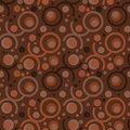 Seamless Retro Wallpaper Pattern Stock Photography