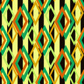 Seamless rhombus retro pattern background geometric abstract