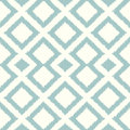 Seamless rhombus tiles aqua pattern Royalty Free Stock Photo
