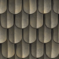 Seamless Roof Shingles Royalty Free Stock Image