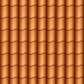 Seamless roof tiles Royalty Free Stock Photos