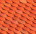 Seamless roof tiles vector background eps illustration Royalty Free Stock Image