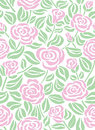 Seamless rose background Stock Photo
