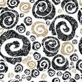 Seamless rose pattern Royalty Free Stock Photo