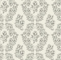 Seamless rose pattern- grey Stock Image