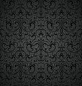 Seamless royal decorative wallpaper vector Royalty Free Stock Images