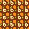 Seamless sammansättning för Pears Arkivfoton