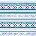 Seamless sample.Lilac and turquoise colors
