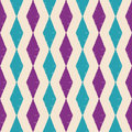 Seamless scribble rhombus pattern Royalty Free Stock Photo