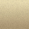 Seamless scripture background Stock Images