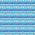 Seamless sea pattern Stock Photo
