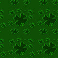 Seamless shamrock 3 Royalty Free Stock Image