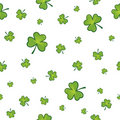 Seamless shamrock background Royalty Free Stock Image