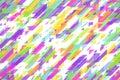 Seamless shiny blue diagonal lines, triangles and diagonal blocks celebratory pattern
