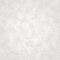 Seamless silver Christmas  background with snowflakes. Vector illustration. Royalty Free Stock Photo