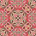 Seamless slavic ornament vector pattern with Stock Photos