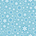 Seamless snowflake pattern background vector illustration of Stock Photography