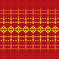 Seamless Southwestern Pattern Royalty Free Stock Photo