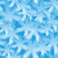 Seamless Spruce Snowflake Pattern