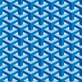 Seamless square escher pattern background Stock Photos