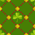 Seamless St.Patrick's day background Stock Photo