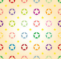 Seamless star background Royalty Free Stock Photos