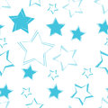 Seamless Star Pattern Background