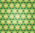 Seamless Starry Flower Pattern Royalty Free Stock Image