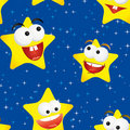 Seamless stars Royalty Free Stock Photography