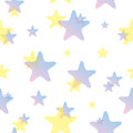 Seamless Stars Pattern Stock Photos