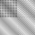 Seamless steel background Royalty Free Stock Photos