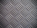 Seamless steel diamond plate background texture Royalty Free Stock Photo
