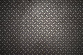 Seamless steel diamond plate Royalty Free Stock Photo