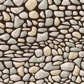 Seamless stone pattern Royalty Free Stock Photos