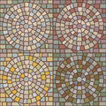 Seamless stone patterns Stock Photography