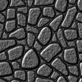 Seamless stone wall. Royalty Free Stock Images