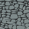 Seamless Stones Wallpaper Stock Photography