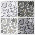 Seamless Stonewall pattern Stock Photo