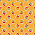 Seamless strawberry background pattern Royalty Free Stock Photo