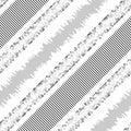 Seamless Stripe and Line Pattern