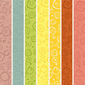 Seamless stripe pattern for kids Royalty Free Stock Photo