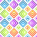 Seamless striped diamonds background pattern colorful with stripes or squares geometric tile Royalty Free Stock Photography