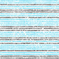 Seamless striped pattern. Blue, black and white colors. Grunge t