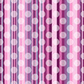 Seamless striped pink pattern Stock Photography