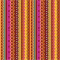 Seamless stripes and laces pattern Stock Images