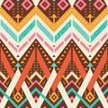 Seamless Stylish Chevrons Patt...