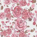 Seamless summer floral pattern this is file of eps format Stock Photo